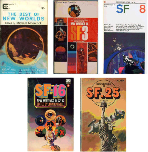 Covers of anthologies containing Unorthodox Engineers stories