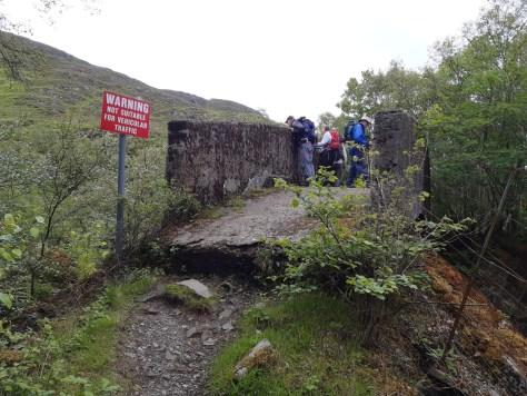 Railway bridge on route to Peanmeanach