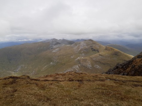 Grey Corries from Aonach Beag