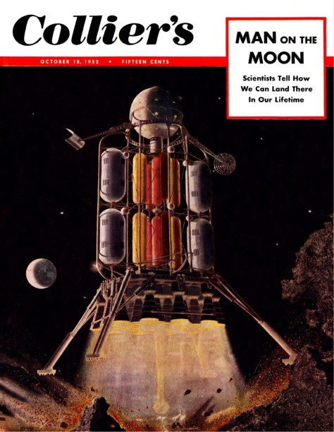 Cover of Collier's 18 October 1952