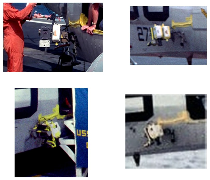Apollo 11 recovery helicopter cameras