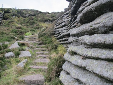 Eroded granite on Oxen Craig