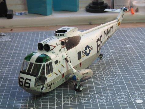 Hasegawa 1/48 SH-3H Sea King canopy polish