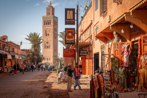 Trek El Koutoubia, Marrakesh