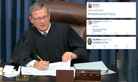 Justice Roberts & Pettifogging