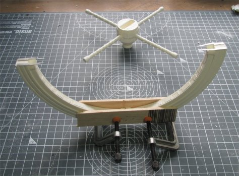 Fantastic Plastic Space Station V assembling rim