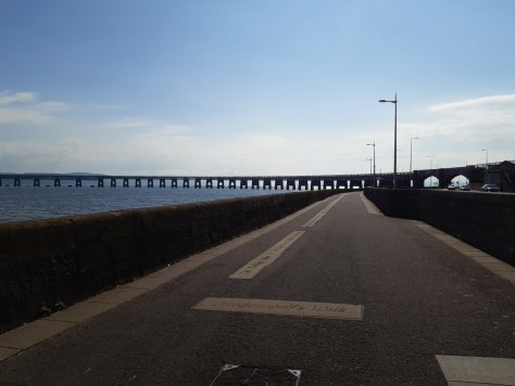McGonagall's Walk and Tay Rail Bridge, Dundee