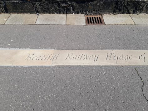 Misspelling on McGonagall's Walk, Dundee