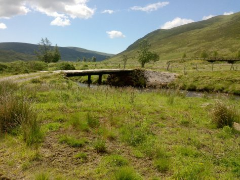 Bridge over the Isla at Tulchan Lodge