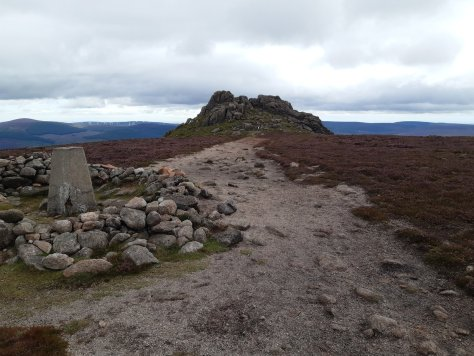 Chlachnaben tor from trig point