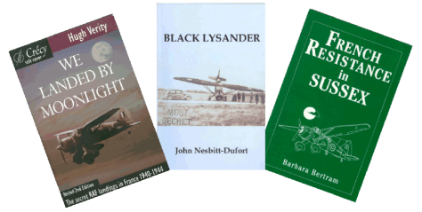 Covers of three books about Lsyander pick-ups