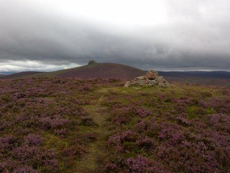 Clacknaben from Mount Shade