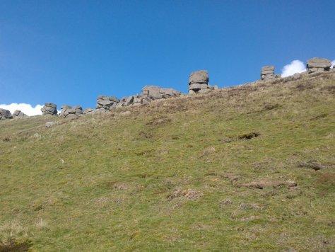 Devil's Burden stones, West Lomond