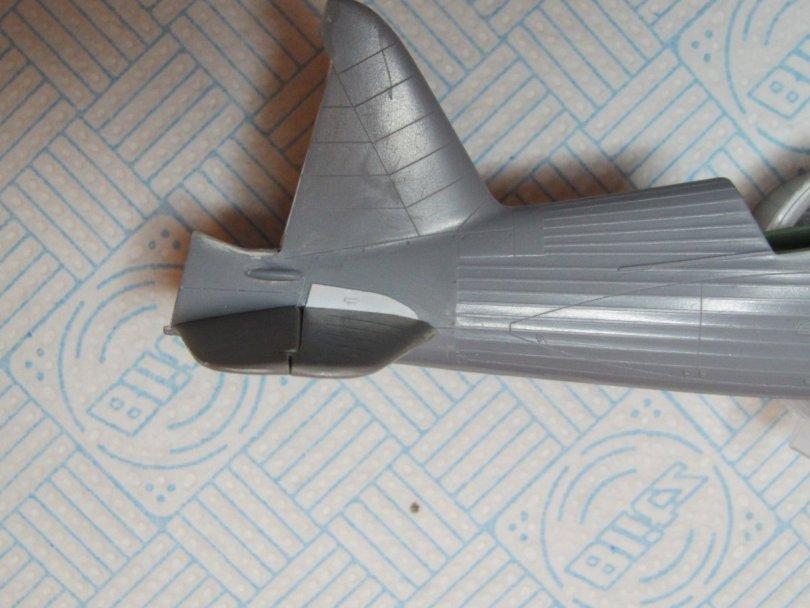 Eduard 1/48 Lysander, CMK tailplanes