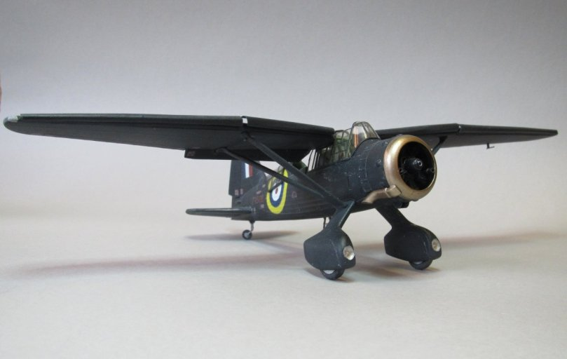 Eduard 1/48 Lysander, exhaust cowling