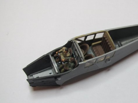 Revell 1/72 Junkers F13 fuselage closed 1