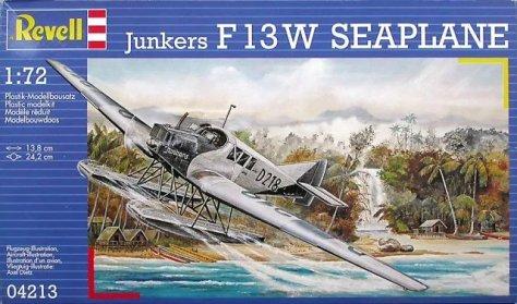Revell Junkers F13W box art