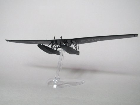 Revell 1/72 Junkers F13 test fitting to stand 2