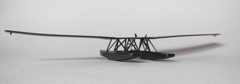 Revell 1/72 Junkers F13 floats attached 1