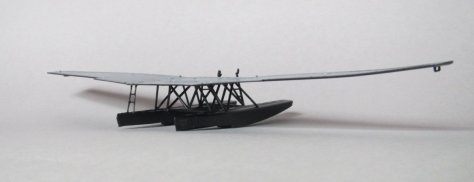 Revell 1/72 Junkers F13 floats attached 2