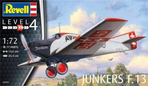 Revell 1/72 Junkers F13 boxart
