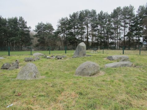Balgarthno stone circle, Dundee
