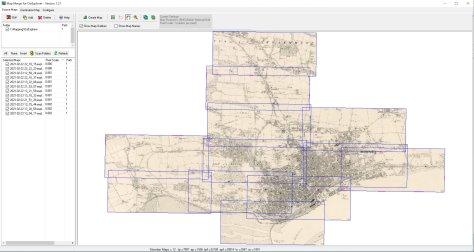Merging maps in OziExplorer Map Merge