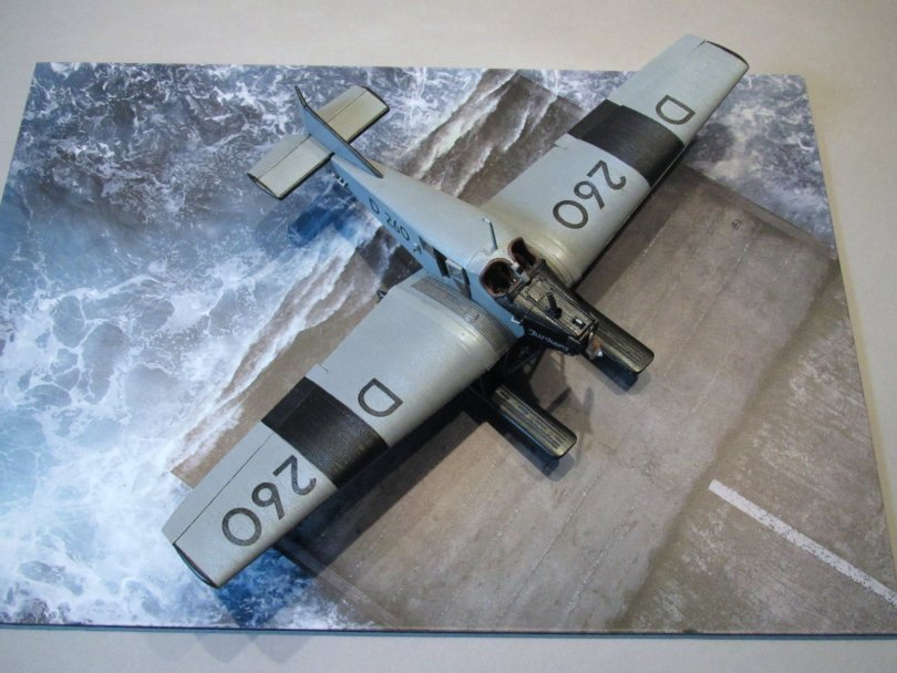 Revell 1/72 Junkers F13 D 260 completed 1