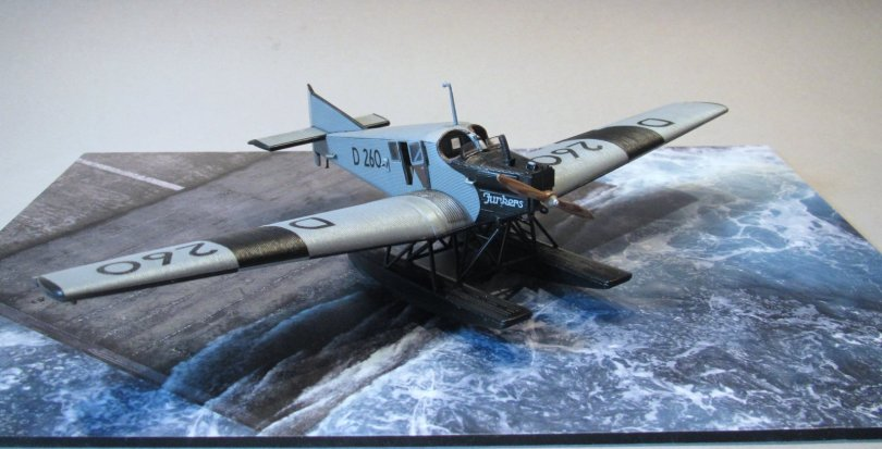 Revell 1/72 Junkers F13 D 260 completed 4