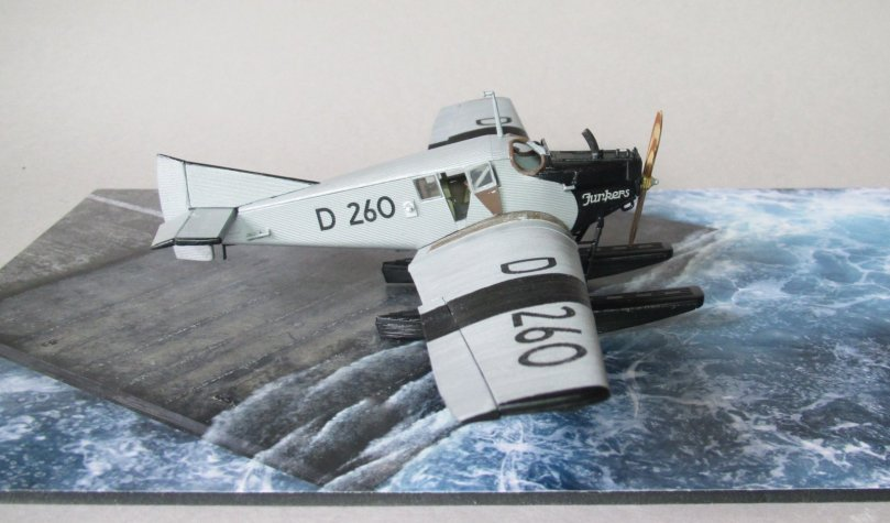 Revell 1/72 Junkers F13 D 260 completed 5
