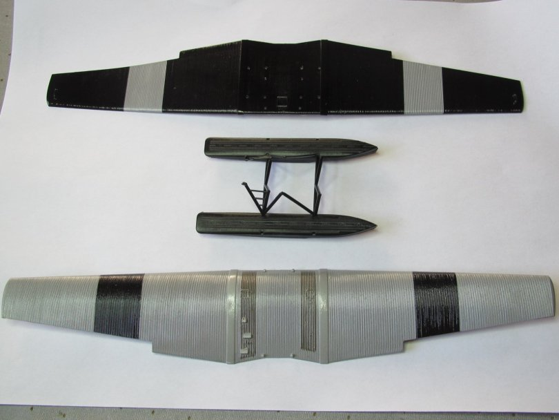 D260 wings and floats read for decals