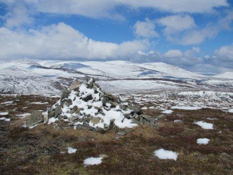 Lochanagar from Cairn Broadlands