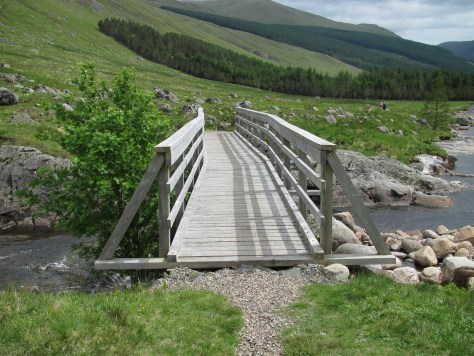 New bridge over the South Esk above Moulzie