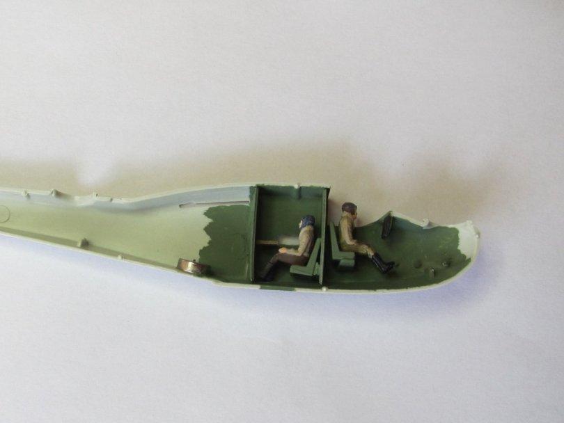 Revell 1/72 Supermarine Walrus adapted interior