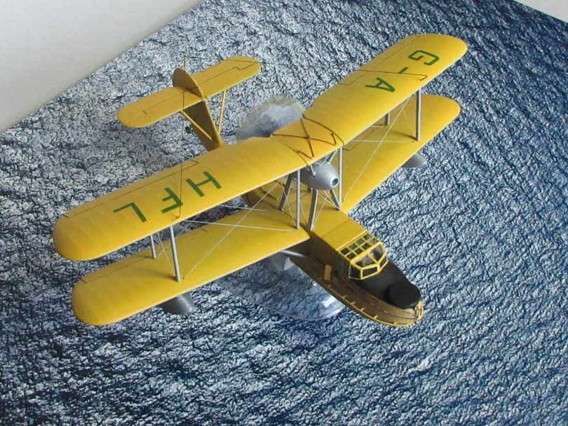 Revell 1/72 Supermarine Walrus completed 12