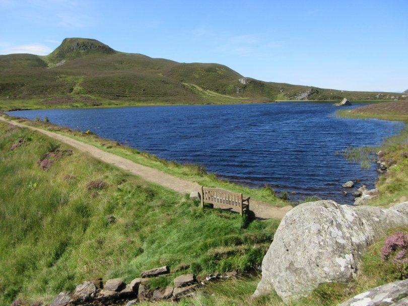 Loch a' Choire, below Ben Vrackie