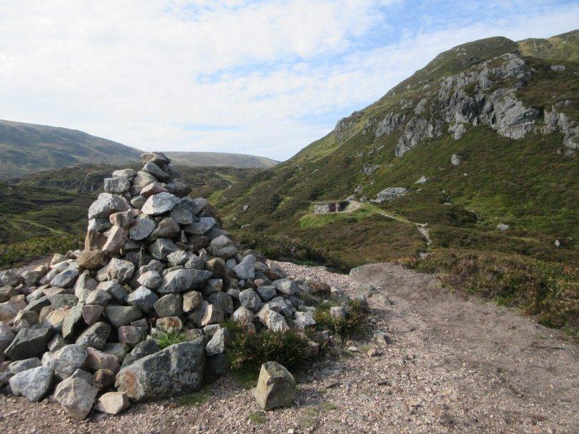 Davy's Bourach below Cairn Lunkard, Glen Doll