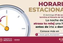 Photo of El domingo 27 de octubre termina el Horario de Verano 2019