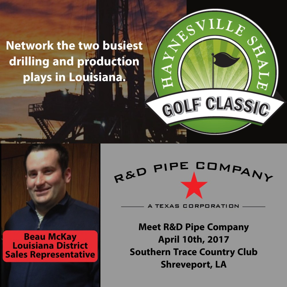 Haynesville Shale Golf Classic  | R&D Pipe Company