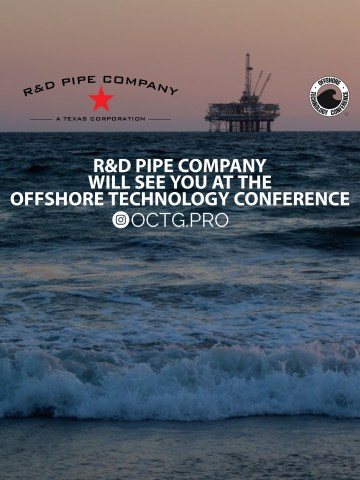 R&D Pipe Company at #OTC2017