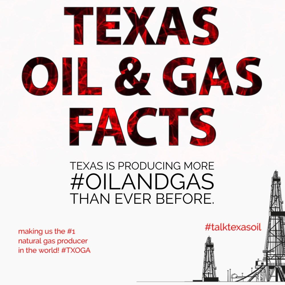 Talk Texas Oil and Gas Facts