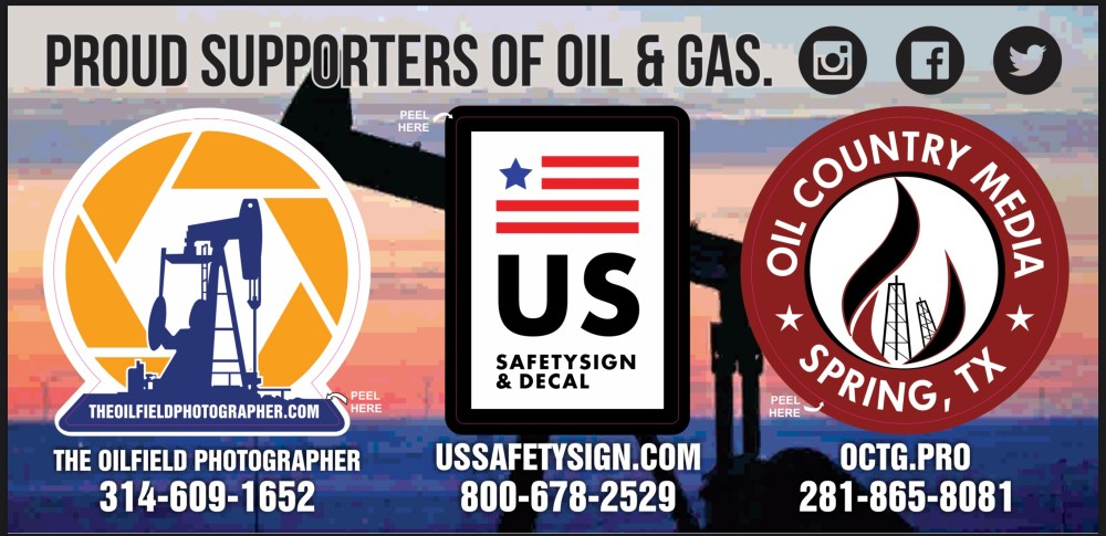 Proud Supporters of Oil & Gas Decals