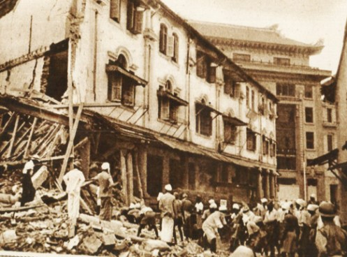 Singapore - January 1942 - endless bombings and looming invasion.