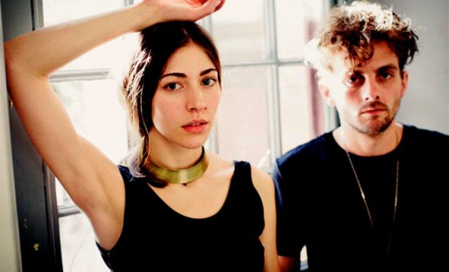 Chairlift - lending an air of ethereal to the proceedings.