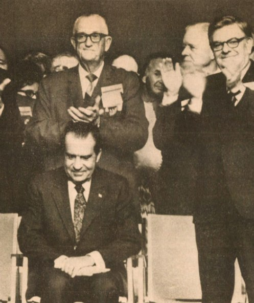Nixon at The Dairymen's Convention in 1971 - The gift that keeps on giving.