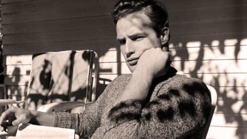 Marlon Brando - discussing his fling with singing.