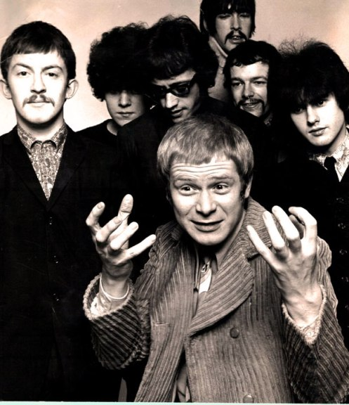 Long John Baldry (front) with Bluesology - One of the great unsung heroes of  British Blues.