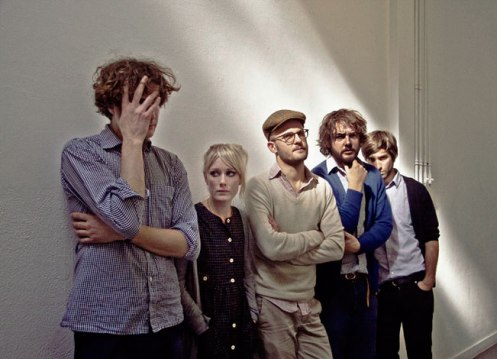 Shout Out Louds - a word or two from Stockholm tonight.