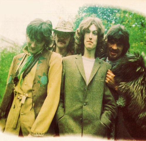 """Traffic (photo circa 1968) - one of the great """"go-to"""" bands of the 60s and 70s."""