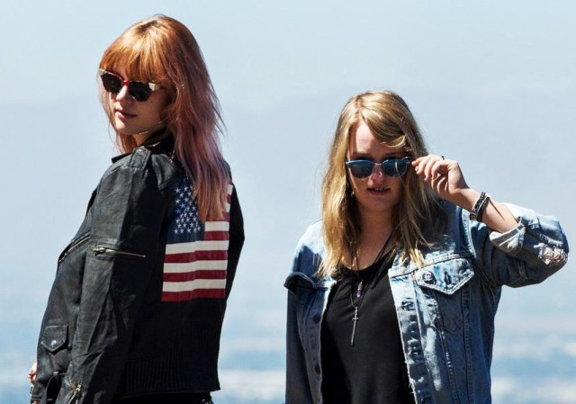 The sisters Clavin - giving Amsterdam a healthy dose of L.A.